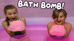 Giant Brain Bath Bomb