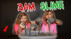Do Not Make Fluffy Slime At 3AM!!