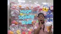 Huge Squishy Wall At Target! Squishy Shopping Vlog!