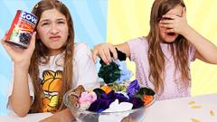 Colored Scrunchies Pick My BAD Slime Ingredients Challenge | JKrew