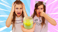 TURN THIS 2 YEAR OLD SLIME INTO A 1 DAY OLD SLIME CHALLENGE! | JKrew