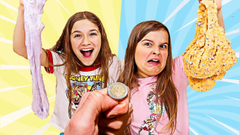 THE COIN TOSS SLIME CHALLENGE! | JKrew