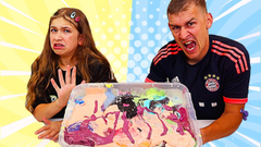 MAKE THIS GIANT UGLY SLIME PRETTY AGAIN CHALLENGE! | JKrew