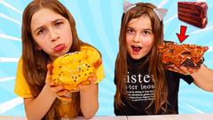 MAKE ME A SLIME CAKE CHALLENGE! Slime baking! | JKrew