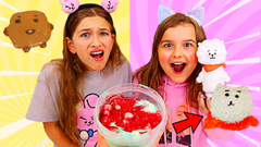 TURN THIS SLIME INTO BT21 SLIME! | JKrew