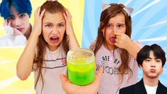 TURN THIS SLIME INTO ANYTHING BTS CHALLENGE! | JKrew