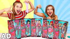I Grade My SISTERS SLIMES Challenge with Wild Hearts Crew | JKrew