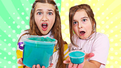 TURN THIS TINY SLIME INTO A GIANT SLIME CHALLENGE! | JKrew