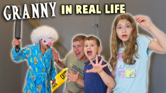 Granny Game In Real Life! | JKrew
