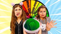 MAKE THIS SLIME PRETTY Mystery Wheel CHALLENGE! | JKrew