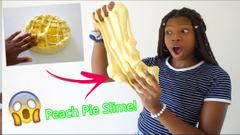 Making A Peach Pie Slime!   Peachy's Slime Kitchen S1 E4