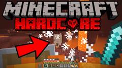 Minecraft Hardcore Survival - GHASTLY NETHER TRIP! (404 Challenge 2020) - Part 9
