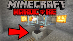 Minecraft Hardcore Survival - Minecart Auto-pickup and Delivery (404 Challenge 2020) - Part 13