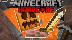 Minecraft Hardcore Survival - PIGSY MALONE (404 Challenge 2020) - Part 11