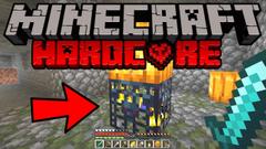 Minecraft Hardcore Survival - ZOMBIE DUNGEON (404 Challenge 2020) - Part 7
