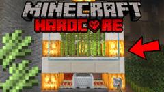 Automatic Sugar Cane Farm! (Minecraft Hardcore Survival) - Part 14