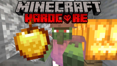 Curing a Zombie Villager! (Minecraft Hardcore Survival) - Part 15