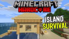 Building a Cozy Beach House! (Minecraft Island Survival) Part 4