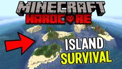 Exile Island Castaway! (Minecraft Island Survival) Part 1