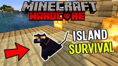 Patronus the Magic Cat! (Minecraft Island Survival) Part 7