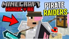 Pirate Raiders!! (Minecraft Island Survival) Part 12