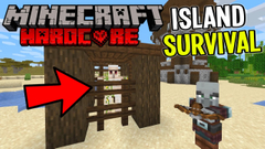 Breaking Big Frank out of Prison! (Minecraft Island Survival) Part 16