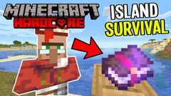 Making Librarians for Mending Book! (Minecraft Island Survival) Part 14