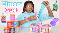 Testing New Elmer's Gue! Store Bought Slime Review #2!