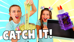 CATCH THE INGREDIENTS TO FIX THIS SLIME!! | JKREW