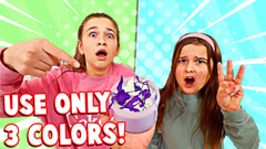 FIX THIS SLIME WITH 3 COLORS!! | JKREW