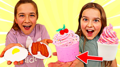 WHO CAN CREATE THE BEST FOOD SLIME CHALLENGE!! | JKREW