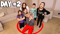 LAST TO LEAVE THE CIRCLE WINS $10,000 - CHALLENGE!! | JKREW