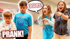 BEING MEAN TO OUR BROTHERS!! **PRANK** | JKREW