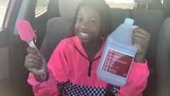 Making Slime In My Mom's Car Live!