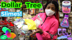Shopping For Slime At Dollar Tree Part 2!