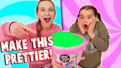 Turning STORE BOUGHT SLIME Into Even PRETTIER SLIME!! | JKREW