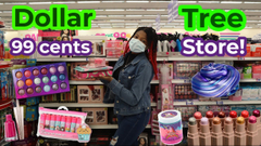 Dollar Tree and 99 Cents Store Slime Supplies Shopping!