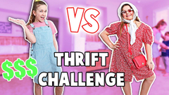 Find the CUTEST OUTFIT in a THRIFT STORE!! **Challenge** | JKREW