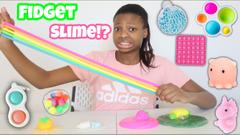 Fidget Toys Into Slime!   Peachy Queen