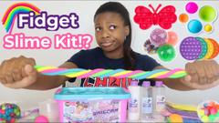 Fidget Toys Into Amazon Slime Kit!
