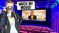 BEST MOVIE THEATER EVER!! **CILLA'S MOVIE THEATER** | JKREW