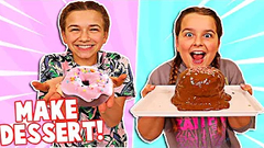 WHO CAN MAKE THE BEST DESSERT OUT OF SLIME?! | JKREW