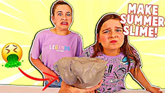 TURN THIS UGLY SLIME INTO A SUMMER SLIME!! **FUNNY** | JKREW