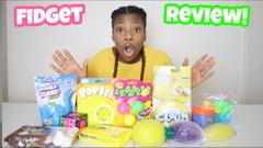 Reviewing Walmart Slimes + Fidgets!