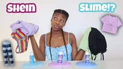 Slime Chooses My Outfits   Shein Fashion Haul 2021