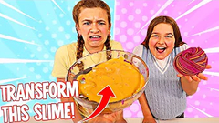 TRANSFORM THIS UGLY SLIME INTO A MULTI COLOR SLIME!! | JKREW