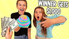 Best SLIME SWIRL wins $1000!! | JKREW