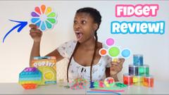 Reviewing Amazon Fidgets + Target Slimes!