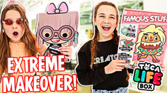 Extreme MakeOver with Toca Life Box! | JKREW
