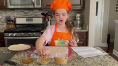 Peanut Butter Granola Pinwheels